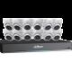 Dahua 16-Channel 4K HD 4tb DVR w/ 12 Eyeball Cameras