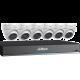 Dahua 8-Channel 4K DVR w/ 3tb Hdd & Six 5mp Eyeball Cameras