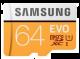 Samsung 64GB EVO V5 NANA microSDXC Class 10 / U1 Flash Memory Card with Adapter