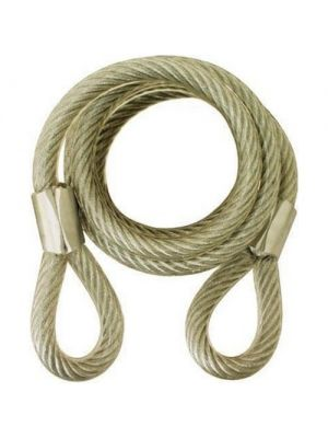 ABUS Standard Steel Cable, 6'
