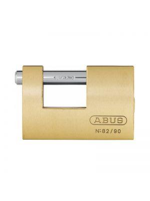 ABUS 82/90 B Monoblock Solid Brass Padlock