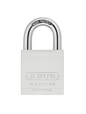 ABUS 83IC/50 B Brass/Nickel Body Special Alloy Shackle Padlock