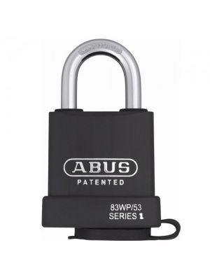 ABUS 83WP/53-S2 Hardened Steel Body Padlock