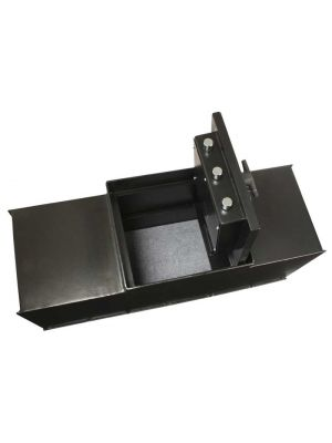 AMSEC B5800 Super Brute B-Rate Floor Safe body only, door not included