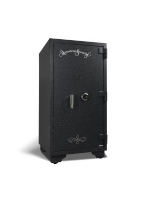 AMSEC UL3918 U.L. Listed Fire Safe features a UL Listed Group II Key Changeable Combination lock