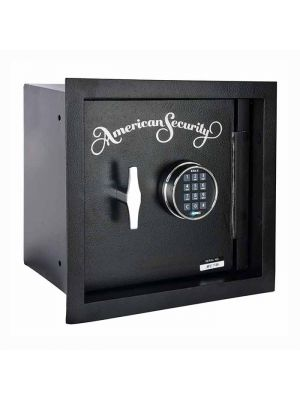 AMSEC WS1214E5 Heavy Duty Extra-Depth Wall Safe, angle closed full body