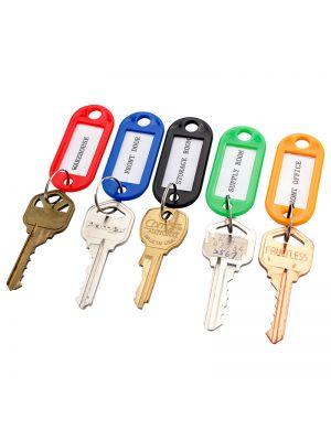 Barska Assorted Key Tags for Key Cabinets (50 Pack)