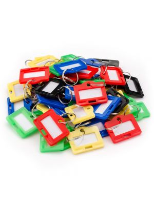 Barska Small Assorted Key Tags for Key Cabinets (50 Pack)