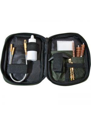 Barska Pistol Cleaning Kit w/ Flexible Rod & Pouch