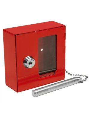 Barska Small Breakable Emergency Key Box with hammer