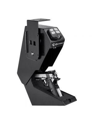 Barska AX13092 Quick-Access Biometric Handgun Desk Safe open