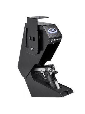 Barska AX13094 Quick-Access Handgun Desk Safe open