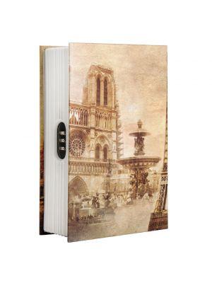 Barska CB12362 Paris Book Covert Lock Box with combination lock