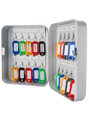 Barska 20 Position Key Cabinet with colored key tags included
