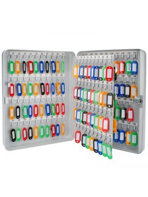 Barska 160 Position Key Cabinet with colored key tags included
