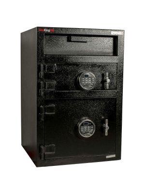 FireKing MB3020-FK1 Double Door Depository Safe, angle