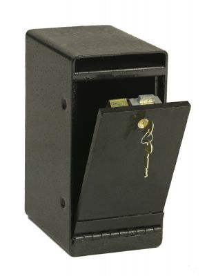 FireKing MS1K-SG4440 Under Counter Drop Safe, angle open
