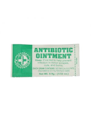 Antibiotic Ointment Packets includes 100 packets