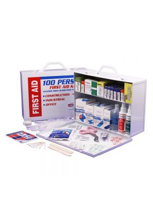 Guardian Survival Gear 2-shelf First Aid Cabinet & Supplies, small image