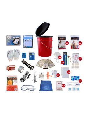 Guardian 72 Hour 4 Person Elite Bucket Survival Kit, small image
