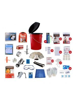 Guardian 72 Hour 5 Person Bucket Survival Kit, small image