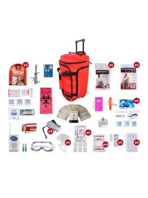 Guardian 4 Person Deluxe Survival Kit (72 Hr)
