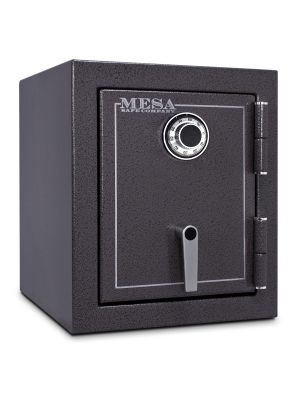 Mesa Safe MBF1512 Burglary & Fire Safe shown with UL Listed Group II combination lock