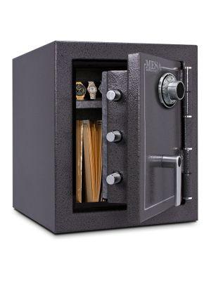 Mesa Safe MBF1512 Burglary & Fire Safe features 3 massive chromed steel locking bolts