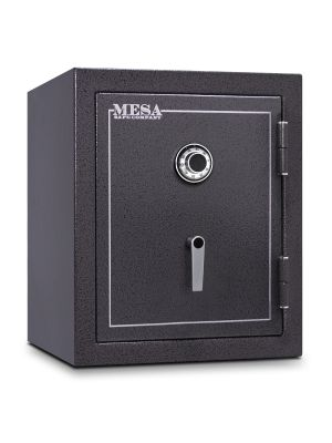 Mesa Safe MBF2620 Burglary & Fire Safe shown with UL listed Group II combination lock