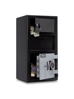 Mesa Safe MFL2014-OLK Depository Safe is equipped with 3 massive 1