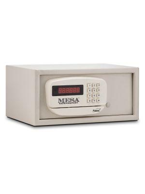 Mesa Safe MH101E Hotel Safe with Card Swipe shown in Cream