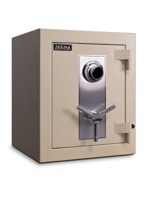Mesa Safe MTLF1814 TL-30 Safe shown with UL listed Group II spy-proof combination lock