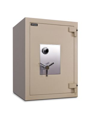 Mesa Safe MTLF3524 TL-30 Safe shown with UL listed group II spy-proof combination lock