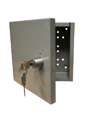 PACLOCK BOX10 Wall Mountable Steel Cabinet for 1-10 PAC-KEEPERS