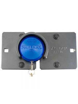 PACLOCK Flat-Back Hockey Puck Lock & Hasp kit for Right-side slider door
