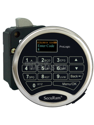 SecuRam Prologic L66 Swing Bolt w/ Bolt Status Indicator Keypad Kit 4
