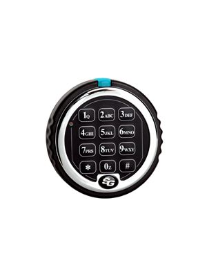 S&G Titan 2007 D-Drive Electronic Safe Lock keypad shown (not included)