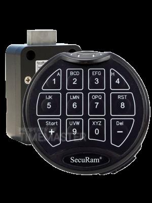 SecuRam SRFPC-BASIC-II-MB-KIT2 Biometric Dead Bolt Keypad Kit