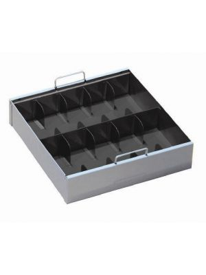 STEELMASTER 10-Compartment Currency Tray