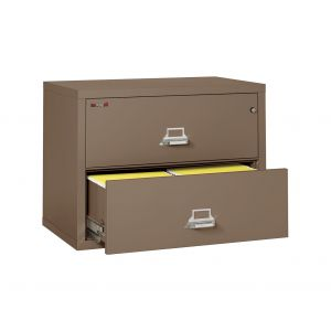 FireKing 2-3822-C 1 Hour Fire Lateral File Cabinet, 2 Drawer 38