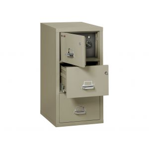 FireKing Safe-in-a-File 3-2131-C SF Legal File Cabinet, 3 Drawer