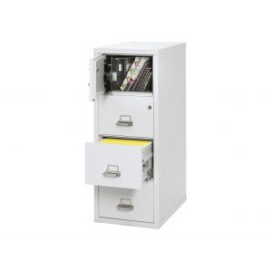 FireKing 4-2131-CSF Protection Plus Legal File Cabinet w/ Safe, 4 Drawer