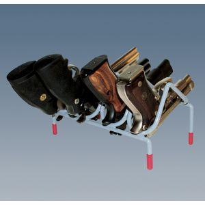 AMSEC Shelf Pistol Rack holds 4 pistols
