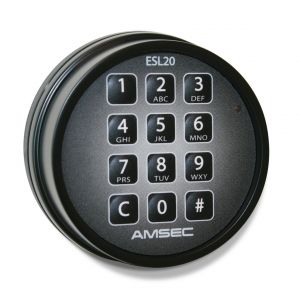 AMSEC ESL20XL-STD Electronic Safe Lock is equipped with 9 users and 1 master