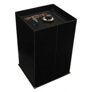 AMSEC B2900 Super Brute Floor Safe shown with door