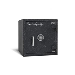 AMSEC BF1716 Burglary & Fire Safe with durable attractive textured finish and chrome or brass trim