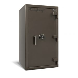 AMSEC BF3416 Burglary & Fire Safe with attractive finishes available in several colors and chrome or brass trim