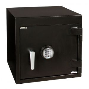 AMSEC BWB2025 B-Rate Wide Body Security Chest shown with ESL20 electronic lock