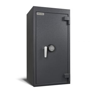 AMSEC BWB4020 B-Rate Wide Body Safe shown with ESL10XL electronic safe lock