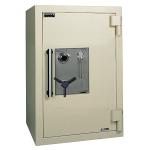 AMSEC AMVAULT CF3524 TL-30 Fire Rated Composite Safe is built to withstand the most sophisticated burglar attacks